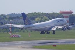 tg36aさんが、成田国際空港で撮影したユナイテッド航空 747-422の航空フォト(飛行機 写真・画像)