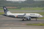 keitsamさんが、成田国際空港で撮影したオーロラ A319-111の航空フォト(飛行機 写真・画像)