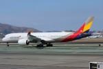 masa707さんが、サンフランシスコ国際空港で撮影したアシアナ航空 A350-941XWBの航空フォト(写真)
