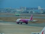 kiyohsさんが、福岡空港で撮影したピーチ A320-214の航空フォト(飛行機 写真・画像)