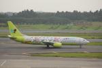 keitsamさんが、成田国際空港で撮影したジンエアー 737-86Nの航空フォト(飛行機 写真・画像)