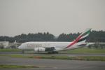 keitsamさんが、成田国際空港で撮影したエミレーツ航空 A380-861の航空フォト(飛行機 写真・画像)