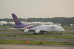 keitsamさんが、成田国際空港で撮影したタイ国際航空 A380-841の航空フォト(写真)