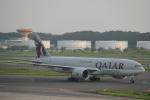 keitsamさんが、成田国際空港で撮影したカタール航空カーゴ 777-FDZの航空フォト(写真)