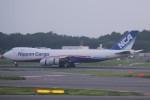 keitsamさんが、成田国際空港で撮影した日本貨物航空 747-8KZF/SCDの航空フォト(写真)
