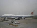 keitsamさんが、上海虹橋国際空港で撮影した中国国際航空 747-4J6の航空フォト(飛行機 写真・画像)