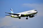 beimax55さんが、成田国際空港で撮影したエアプサン A321-231の航空フォト(写真)