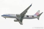 遠森一郎さんが、福岡空港で撮影したチャイナエアライン 737-8FHの航空フォト(写真)