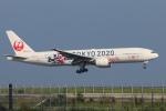 ぽん太さんが、羽田空港で撮影した日本航空 777-246の航空フォト(写真)