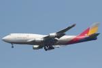 安芸あすかさんが、成田国際空港で撮影したアシアナ航空 747-48EM(BDSF)の航空フォト(写真)