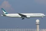 Wings Flapさんが、中部国際空港で撮影したキャセイパシフィック航空 777-31Hの航空フォト(写真)