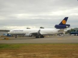 worldstarさんが、シアトル タコマ国際空港で撮影したルフトハンザ・カーゴ MD-11Fの航空フォト(飛行機 写真・画像)