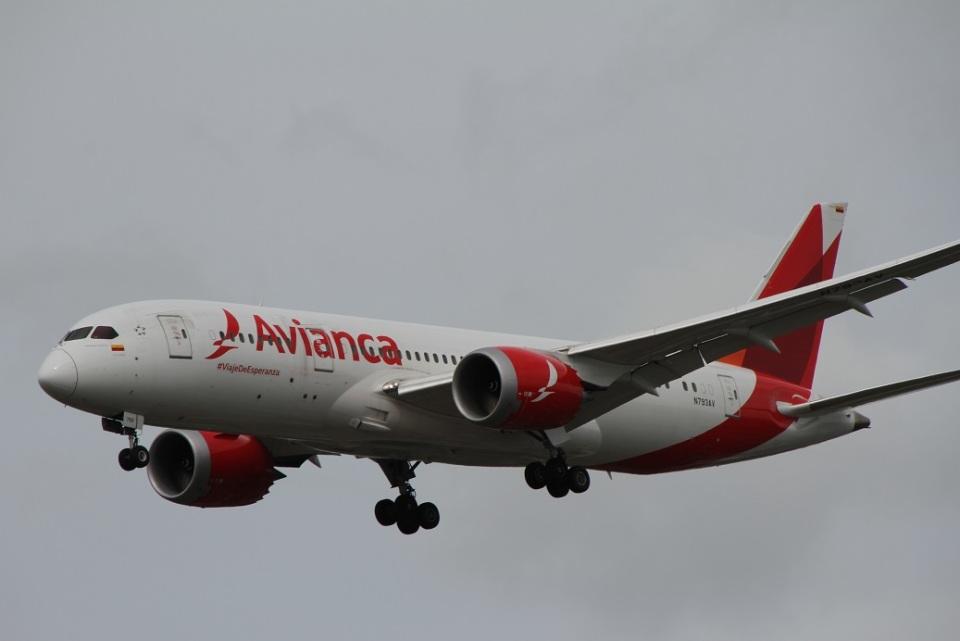 ガペ兄さんのアビアンカ航空 Boeing 787-8 Dreamliner (N793AV) 航空フォト