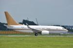 トロピカルさんが、成田国際空港で撮影した南山公務 737-7ZH BBJの航空フォト(写真)
