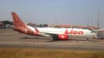 誘喜さんが、スカルノハッタ国際空港で撮影したライオン・エア 737-8-MAXの航空フォト(写真)