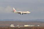 Orange linerさんが、新千歳空港で撮影した日本航空 737-846の航空フォト(写真)