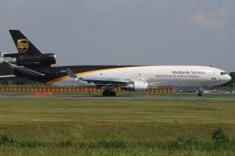 tassさんが、成田国際空港で撮影したUPS航空 MD-11Fの航空フォト(飛行機 写真・画像)