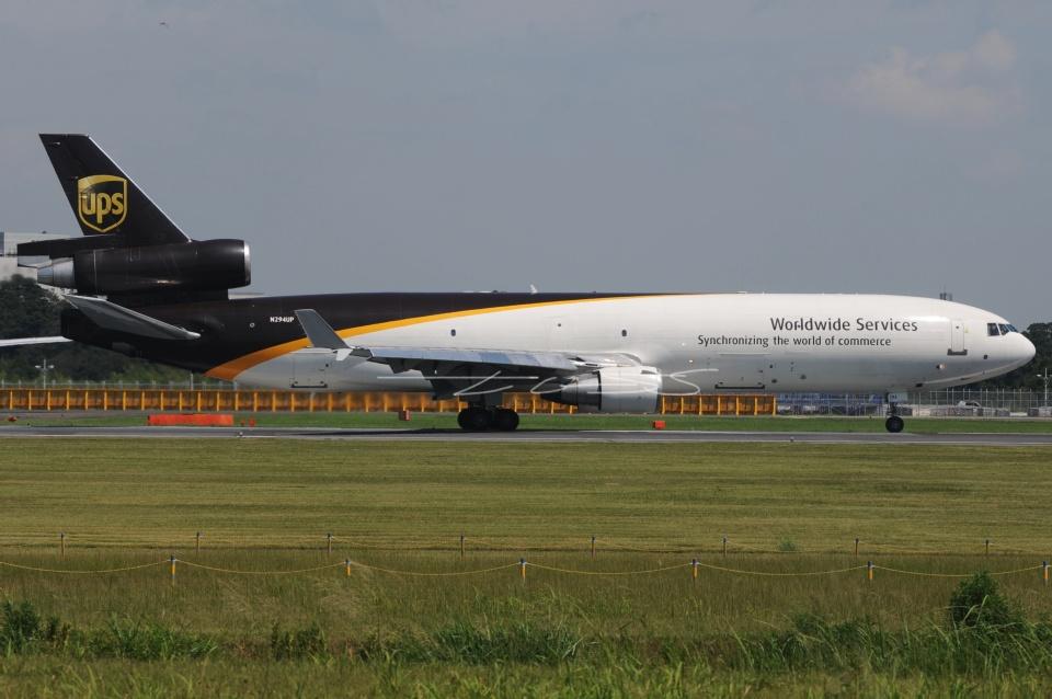tassさんのUPS航空 McDonnell Douglas MD-11 (N294UP) 航空フォト