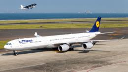 航空フォト:D-AIHY ルフトハンザドイツ航空 A340-600
