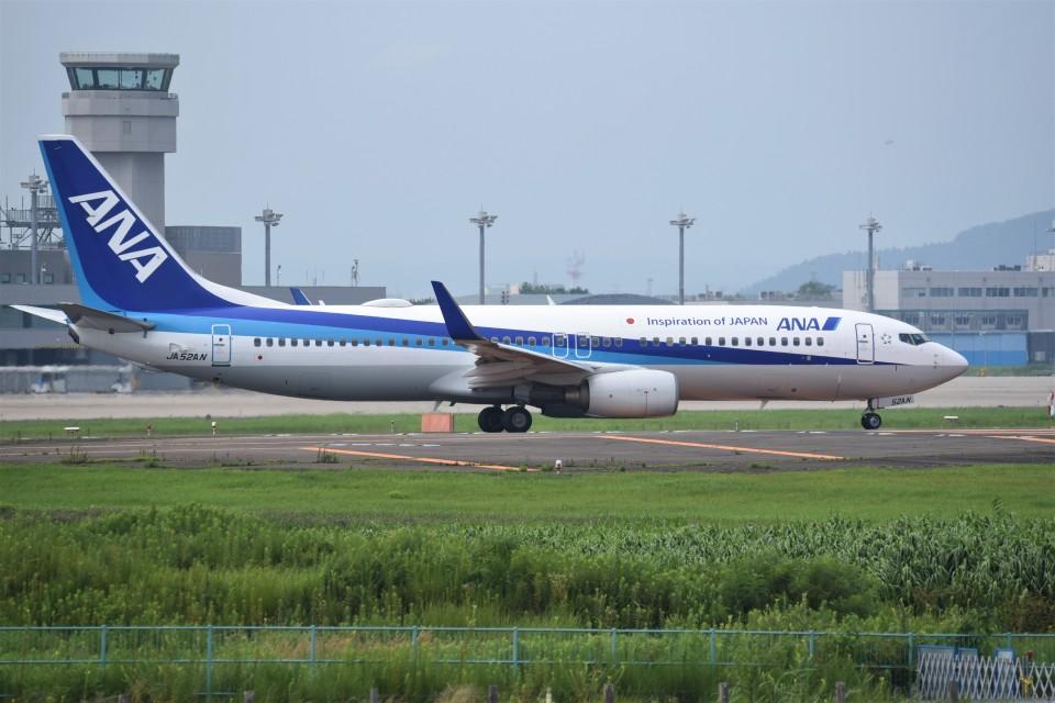 kumagorouさんの全日空 Boeing 737-800 (JA52AN) 航空フォト