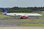 Cozy Gotoさんが、成田国際空港で撮影したスカンジナビア航空 A340-313Xの航空フォト(写真)