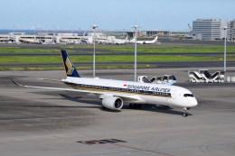 よんすけさんが、羽田空港で撮影したシンガポール航空 A350-941の航空フォト(飛行機 写真・画像)
