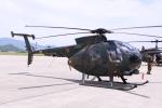 Mr.boneさんが、防府北基地で撮影した陸上自衛隊 OH-6Dの航空フォト(写真)