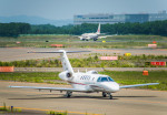 Cygnus00さんが、新千歳空港で撮影した国土交通省 航空局 525C Citation CJ4の航空フォト(写真)