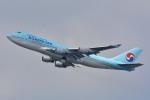 トロピカルさんが、成田国際空港で撮影した大韓航空 747-4B5の航空フォト(写真)