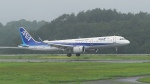撮り撮り人さんが、岡山空港で撮影した全日空 A321-272Nの航空フォト(写真)