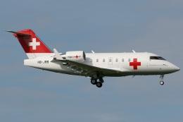 Hariboさんが、チューリッヒ空港で撮影したREGA スイスエア-アンビュランス CL-600-2B16 Challenger 604の航空フォト(飛行機 写真・画像)
