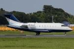 Hariboさんが、成田国際空港で撮影したジェット・アビエーション・ビジネス・ジェット CL-600-2B16 Challenger 605の航空フォト(写真)