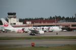 でぶさんが、青森空港で撮影した日本航空 767-346/ERの航空フォト(写真)