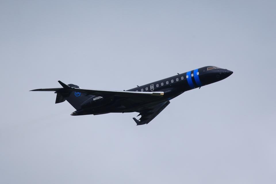 T.Sazenさんのウィルミントン・トラスト・カンパニー Bombardier BD-700 Global Express/5000/6000 (N2020Q) 航空フォト