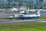 あきらっすさんが、調布飛行場で撮影した新中央航空 228-212の航空フォト(写真)