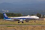Jin Bergqiさんが、小松空港で撮影した全日空 A321-272Nの航空フォト(写真)