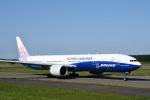 mike48さんが、新千歳空港で撮影したチャイナエアライン 777-309/ERの航空フォト(写真)