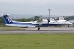 るかぬすさんが、函館空港で撮影したANAウイングス DHC-8-402Q Dash 8の航空フォト(写真)