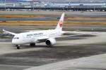 H.Oさんが、羽田空港で撮影した日本航空 787-8 Dreamlinerの航空フォト(写真)