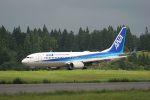 hikanagiさんが、秋田空港で撮影した全日空 737-8ALの航空フォト(写真)