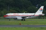 神宮寺ももさんが、岡山空港で撮影した中国東方航空 A319-133の航空フォト(写真)
