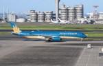 よんすけさんが、羽田空港で撮影したベトナム航空 A350-941XWBの航空フォト(写真)