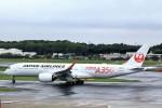 T.Sazenさんが、成田国際空港で撮影した日本航空 A350-941XWBの航空フォト(写真)