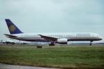 tassさんが、ロンドン・ガトウィック空港で撮影したアンバサダー・エアウェイズ 757-236の航空フォト(飛行機 写真・画像)