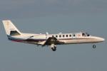Hariboさんが、羽田空港で撮影した朝日新聞社 560 Citation Encoreの航空フォト(写真)