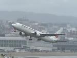 ジジさんが、福岡空港で撮影した日本航空 767-346/ERの航空フォト(写真)