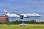 パピヨンさんが、成田国際空港で撮影したエア・カナダ 787-9の航空フォト(写真)