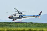 Gambardierさんが、岡南飛行場で撮影した中日本航空 AS355F2 Ecureuil 2の航空フォト(写真)