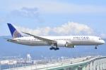 FLYING  HONU好きさんが、関西国際空港で撮影したユナイテッド航空 787-9の航空フォト(写真)
