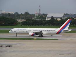 もんがーさんが、ドンムアン空港で撮影したロイヤル・ネパール航空 757-2F8Cの航空フォト(飛行機 写真・画像)